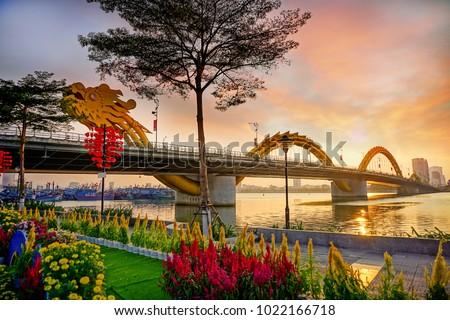 Da Nang, Vietnam: Tet holiday is coming. #1022166718