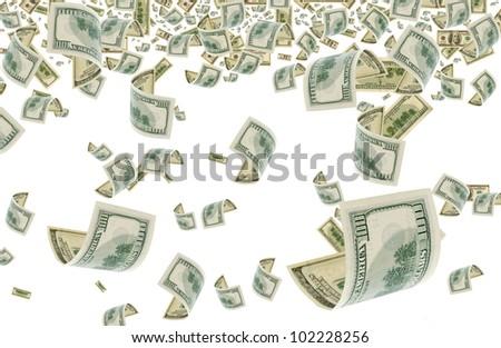A lot of U.S. dollars. #102228256