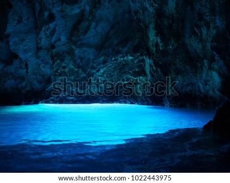 Cave Bisevo, Croatia