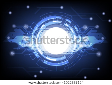 abstract background design digital robot #1022889124