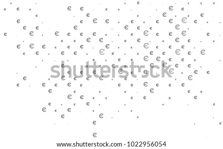 Dark Silver, Gray vector layout with banking symbols. Abstract illustration with colored financial digital symbols. The pattern can be used for financial, investment websites. #1022956054
