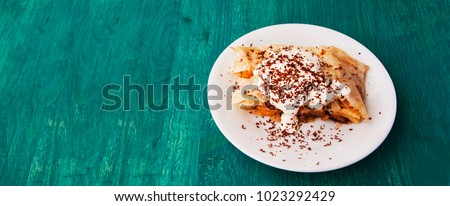 Strudel (Viennese, homely, apples ) #1023292429