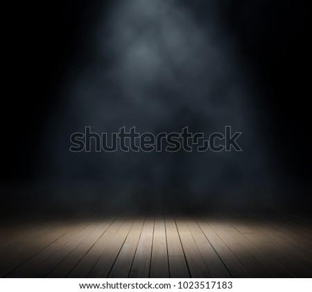 Texture dark background with smoke