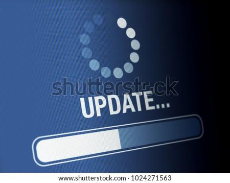 Update progress on a high resolution LCD screen. #1024271563