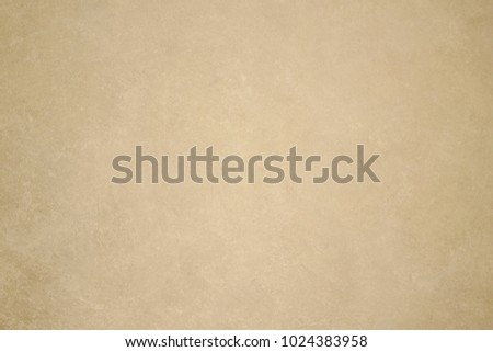 The texture of the surface of a smooth rough wall with light spots and scattered reflex. Light, warm, beige, brown color. Designer background. Artistic plaster. Rastered digital fit. #1024383958