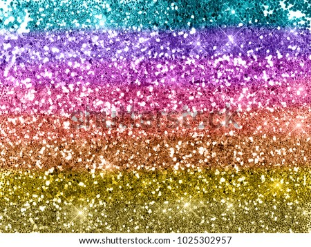 Rainbow glitter background texture Royalty-Free Stock Photo #1025302957