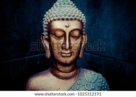 Zen buddha figure