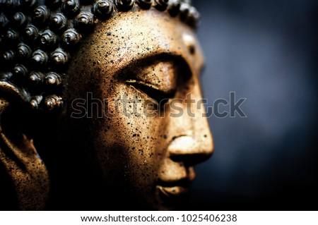 spiritual buddha figure #1025406238