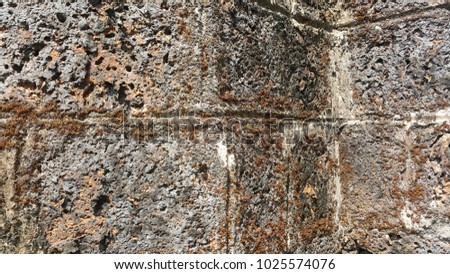 Wall  Stone old #1025574076