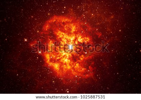 Explosion - Elements of this Image Furnished by NASA