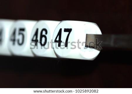 billiard counters in the interior #1025892082