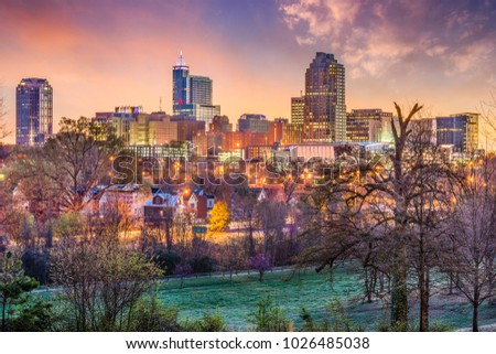 Raleigh, North Carolina, USA skyline. #1026485038