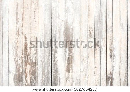 Old wood texture and background in vintage tone. Plank light brown wooden wall background. Royalty-Free Stock Photo #1027654237