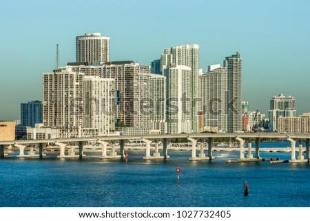 Bridge in Miami, Florida #1027732405