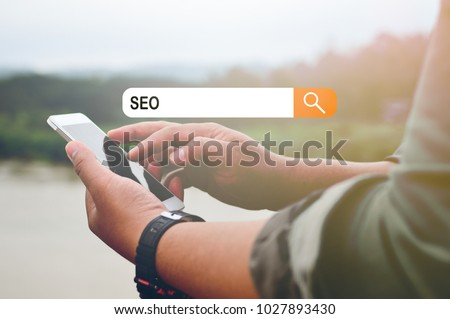 Technology Concept: SEO #1027893430