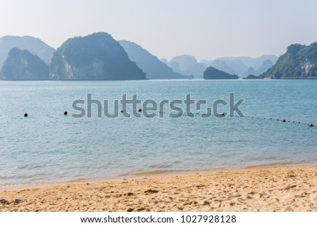 Halong Bay Vietnam Royalty-Free Stock Photo #1027928128