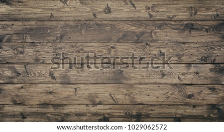 Wood texture background surface with old natural pattern. Grunge surface rustic wooden table top view #1029062572