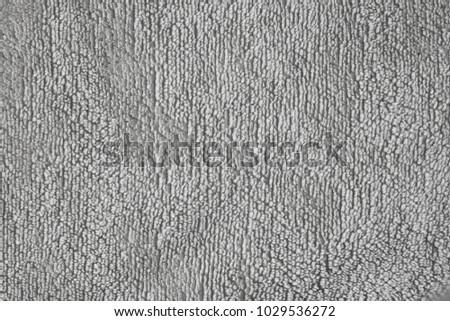 Gray bath towel texture #1029536272