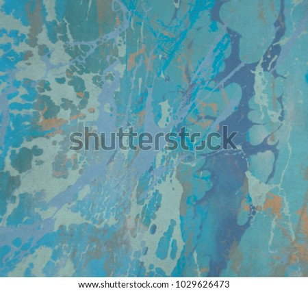 Abstract painting. Ink handmade image. Modern artistic pattern. Creative artwork. Colorful texture. Contemporary art. Artistic canvas. #1029626473