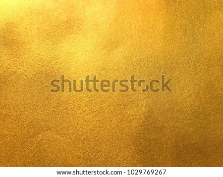 Gold or foil background texture #1029769267