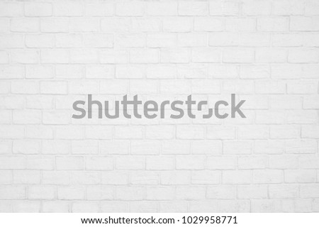 Abstract weathered texture stained old stucco light gray and aged paint white brick wall background in rural room or grungy rusty blocks of stonework technology color horizontal architecture wallpaper #1029958771