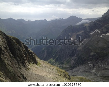 Gorge in High Tatry, Poland. Region of Zakopane. #1030395760
