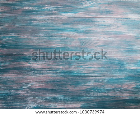 Old green wooden background - wood texture #1030739974