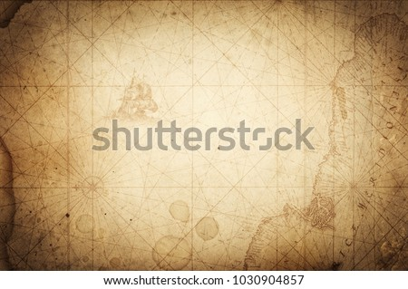 Pirate and nautical theme grunge background. #1030904857