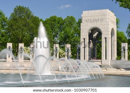 World War (( Memorial in Washington DC - United States #1030907701
