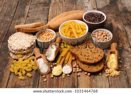 selection of food free gluten #1031464768