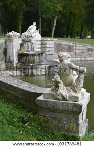 Chamarande castle - parisian region - France #1031769481