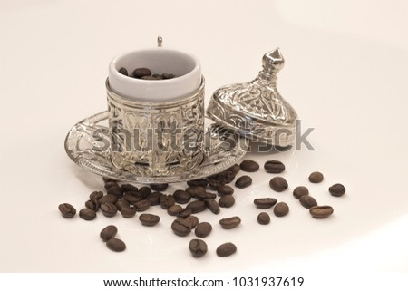 ottoman turkish coffee set