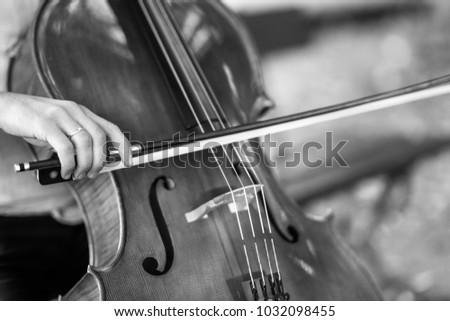 beautiful cello playing #1032098455