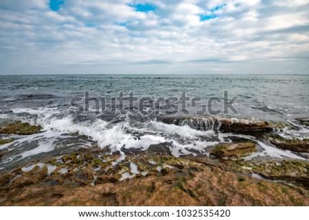 North sea shore #1032535420