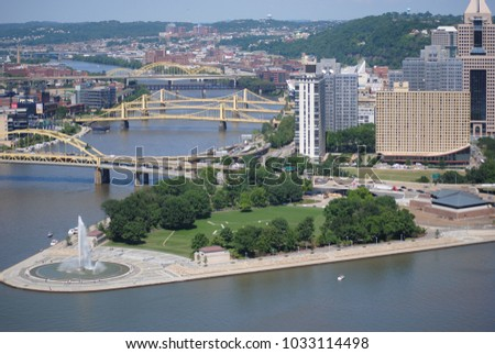 A view of Pittsburgh #1033114498