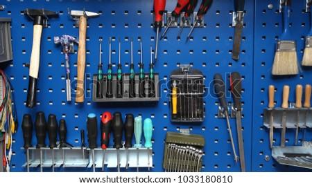 tools in workshop  #1033180810