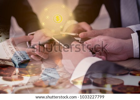 working on mobile for business goal and successful #1033227799
