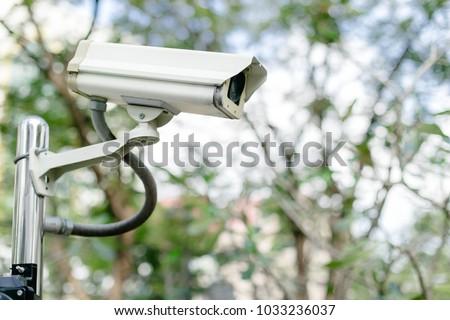 Multi-angle CCTV system background blast background #1033236037