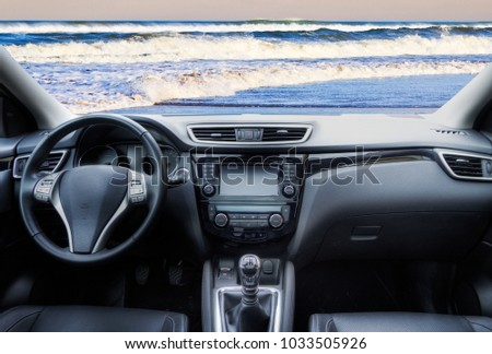 Travel holiday at the beach #1033505926
