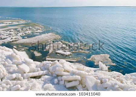 Ice on the sea #103411040