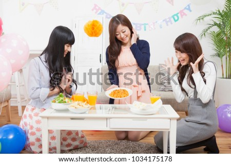 Preparing the japanese women's party #1034175178