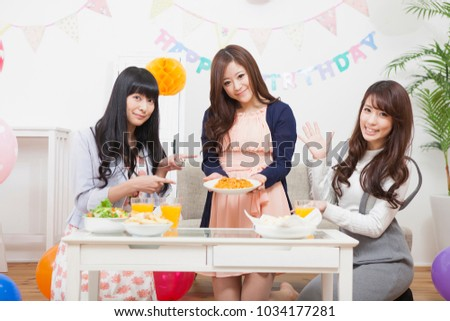 Girls party in japan #1034177281