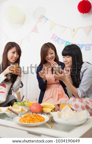 Girls party in japan #1034190649