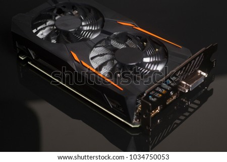Graphic videocard for crypto currency mining and computer game #1034750053