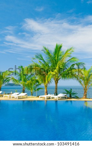 Romantic Villa Resort Relaxation #103491416
