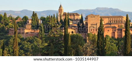 Alhambra, Andalusia, Spain #1035144907