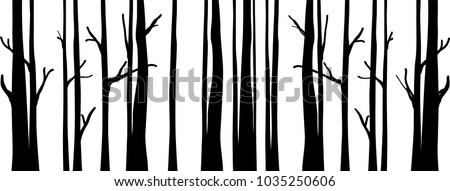 Vector Trees Background