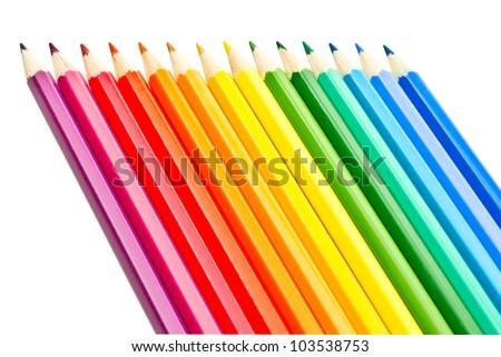 colored pencils #103538753