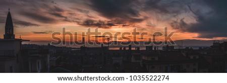 Panorama of Trieste #1035522274