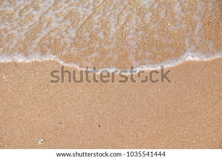 Sea sand beach texture background #1035541444